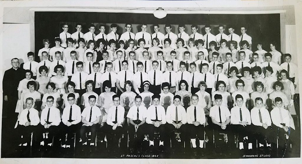 St. Pascals Class of 1964